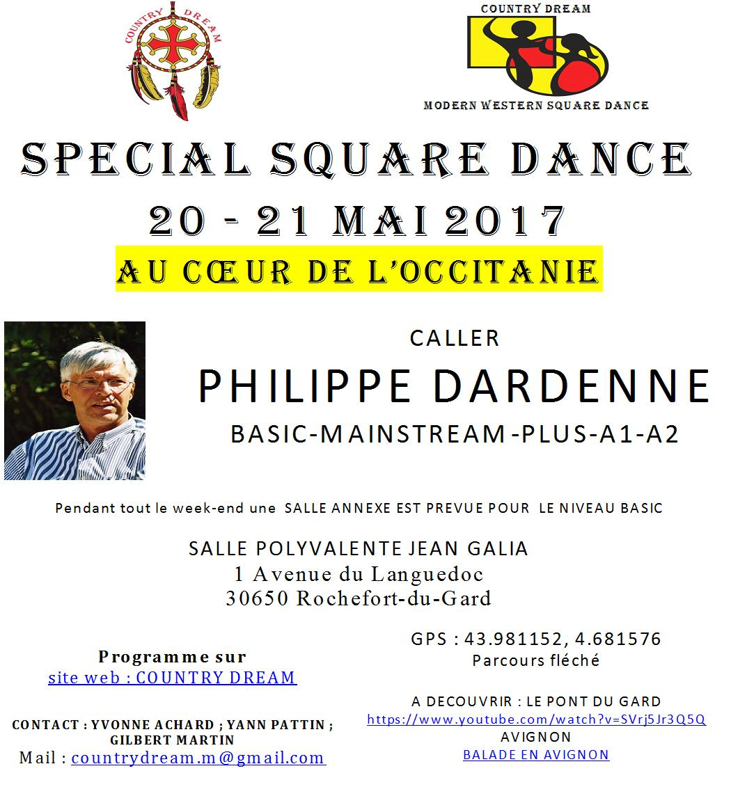 Affiche square francais