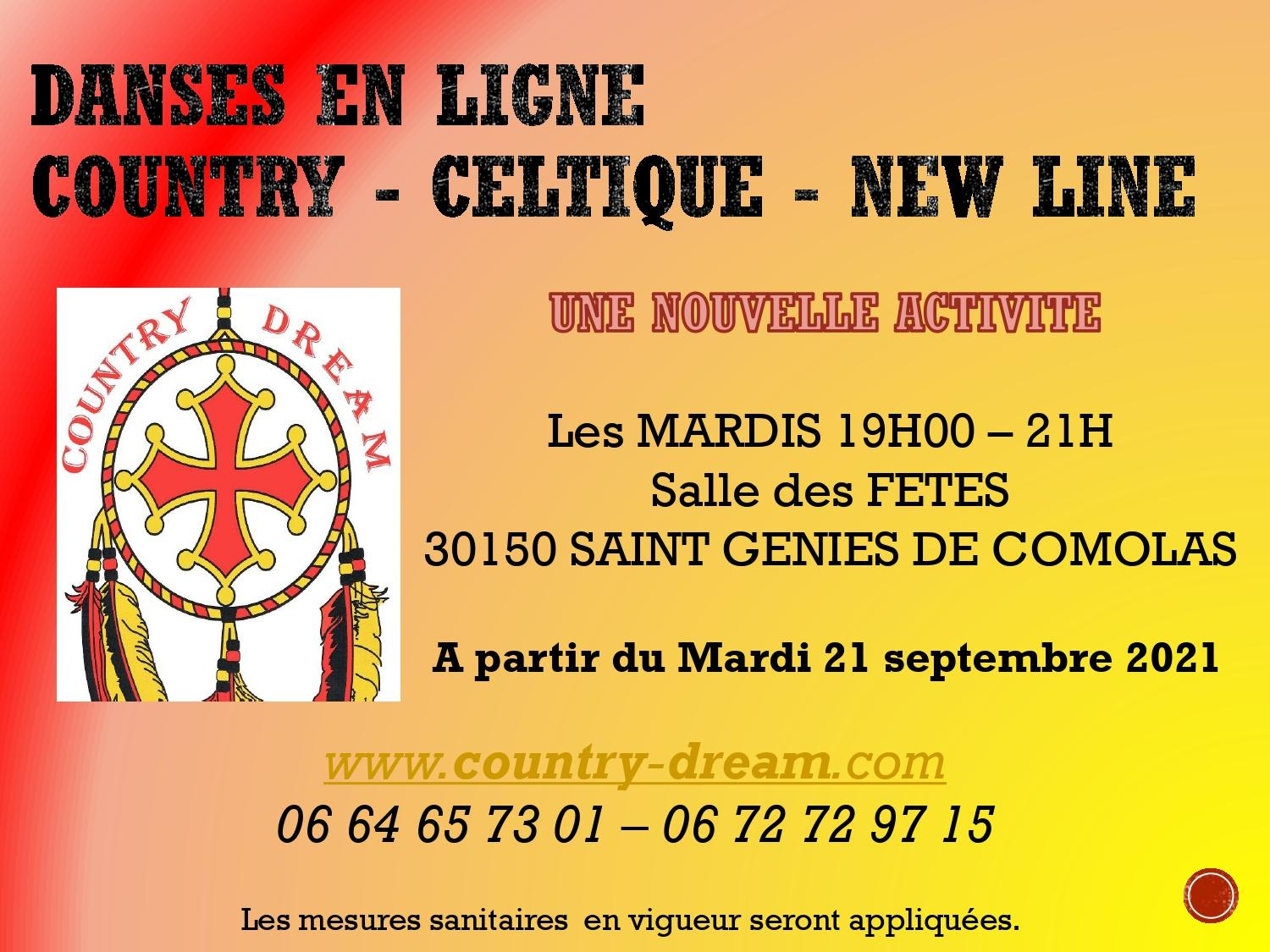 Cours country page 2021 22