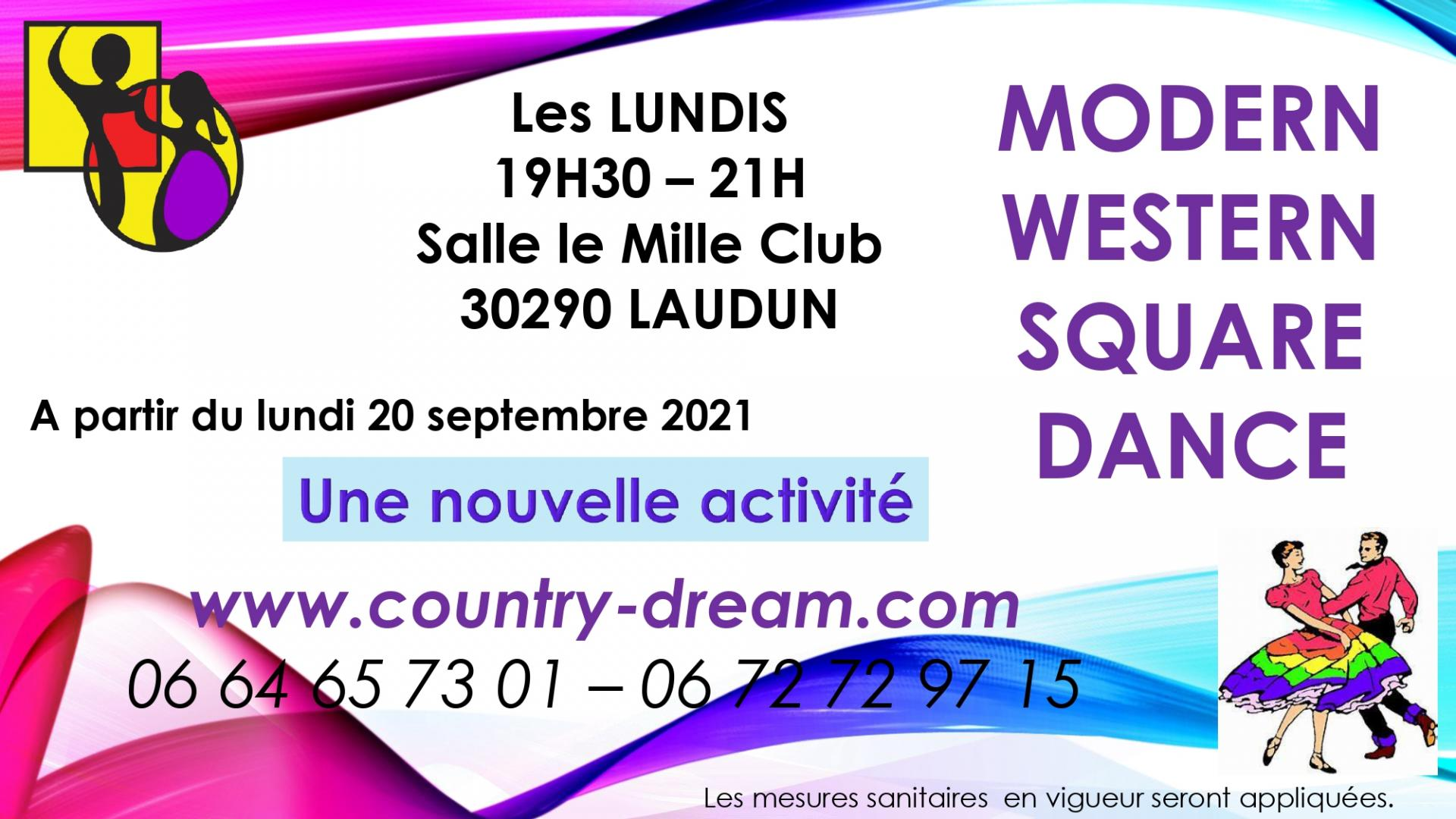 Cours square dance 2021 22